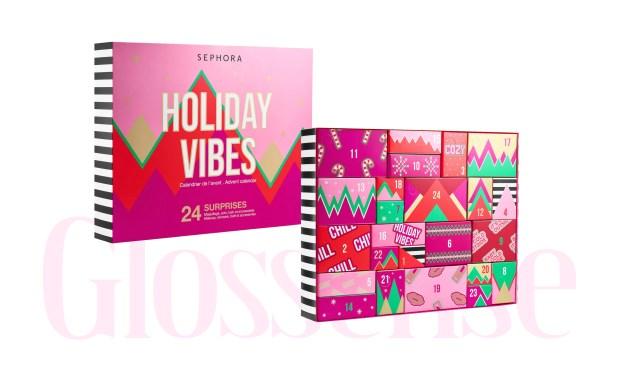 Sephora Canada Sephora Collection 2021 Advent Calendar 2022 Holiday Vibes Canadian Christmas Gift - Glossense
