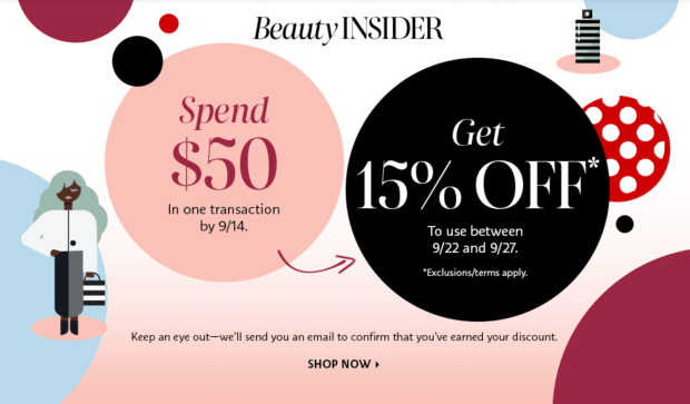 Sephora Canada Shop Now Save Later Labour Day 2021 Canadian Deal - Glossense
