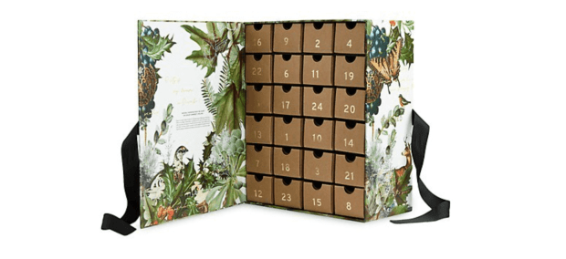 Saks Fifth Avenue Canada Cowshed 24 Day 2021 Advent Calendar Canadian Holiday Christmas Countdown - Glossense