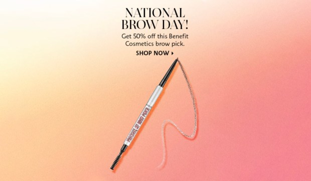 Sephora Canada Hot Sale National Brow Day 2021 2022 Canadian Deals - Glossense