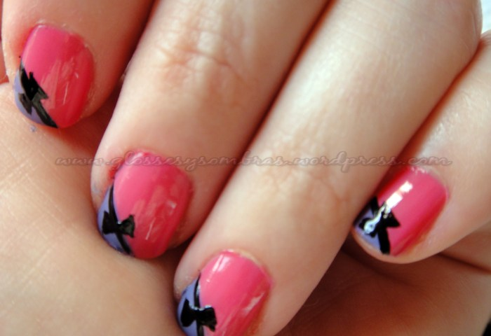 Uñas Decoradas Glosses Y Sombras