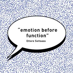 emotion-before-function