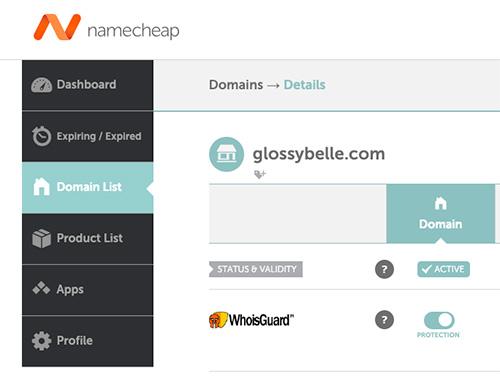 namecheap registration