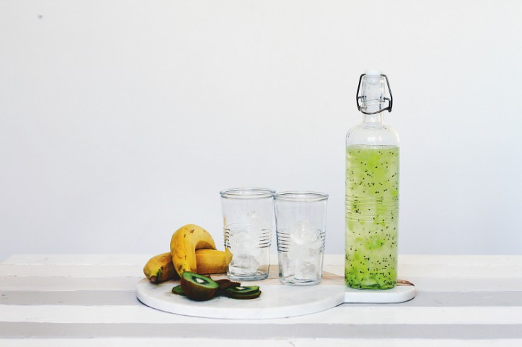 Drink lots of water to treat dry, chapped lips
