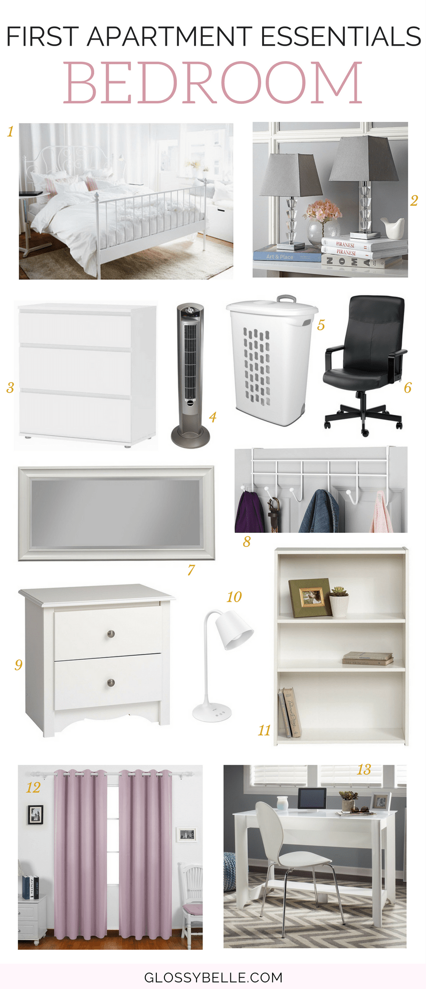 If you're about to move out into your first apartment, here are the most important apartment essentials you'll need to be ready to move out on your own. | adulting | move out for the first time | moving out | independence | college essentials | college dorm | room essentials | home decor | bedroom essentials #apartment #furniture #furnitureideas #adulting #homedecor #bedroomideas #bedroomdecor #bedroomdecoratingideas