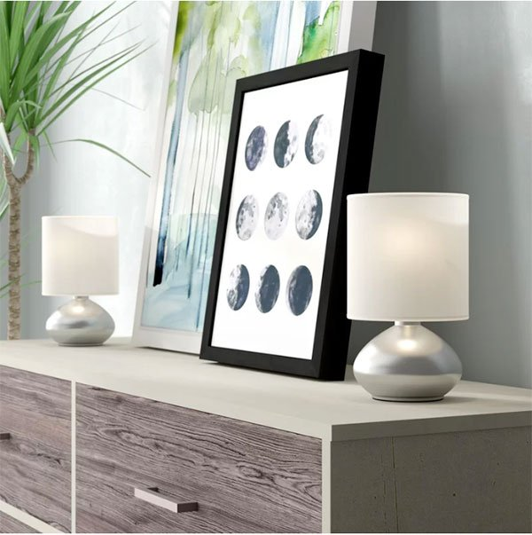 bedroom nightstand lamp