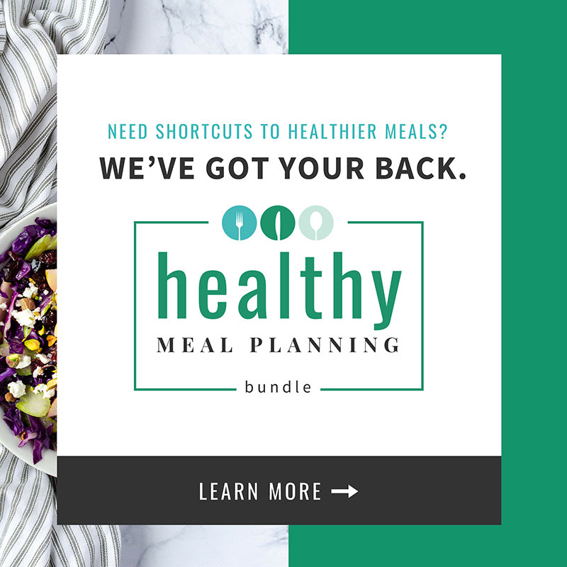 healthy meal planning bundle