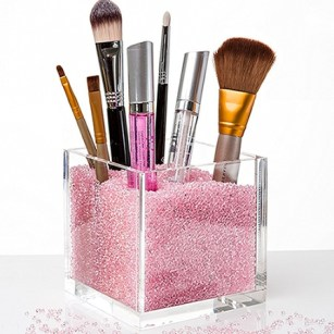 acrylic make up brush holder