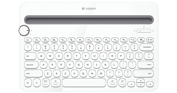 logitech bluetooth multi-device keyboard for tablets and smartphones