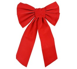 red velvet christmas bows
