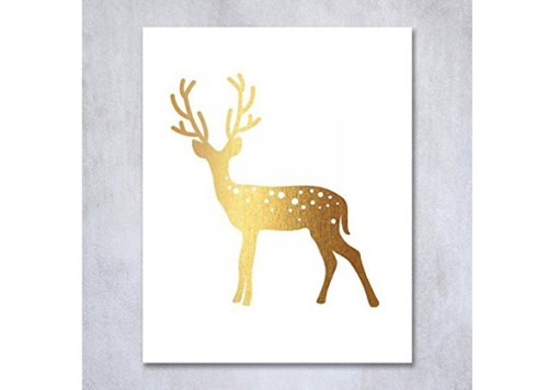 reindeer wall art
