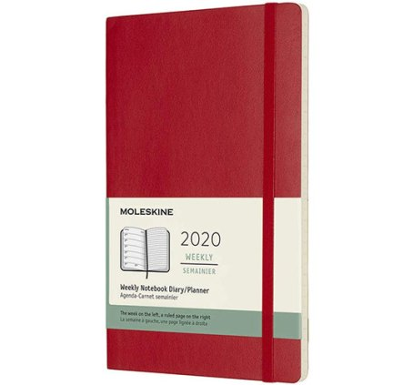 Moleskine Classic 12 Month 2020 Weekly Planner