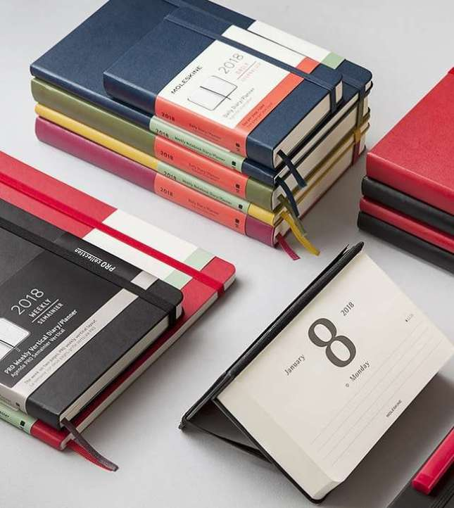 moleskine notebooks planners