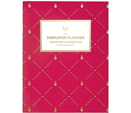 simplified by emily ley 2020 monthly planner