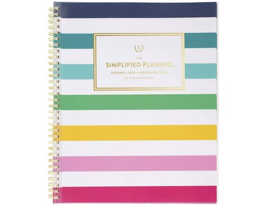 simplified by emily ley 2020 weekly and monthly planner