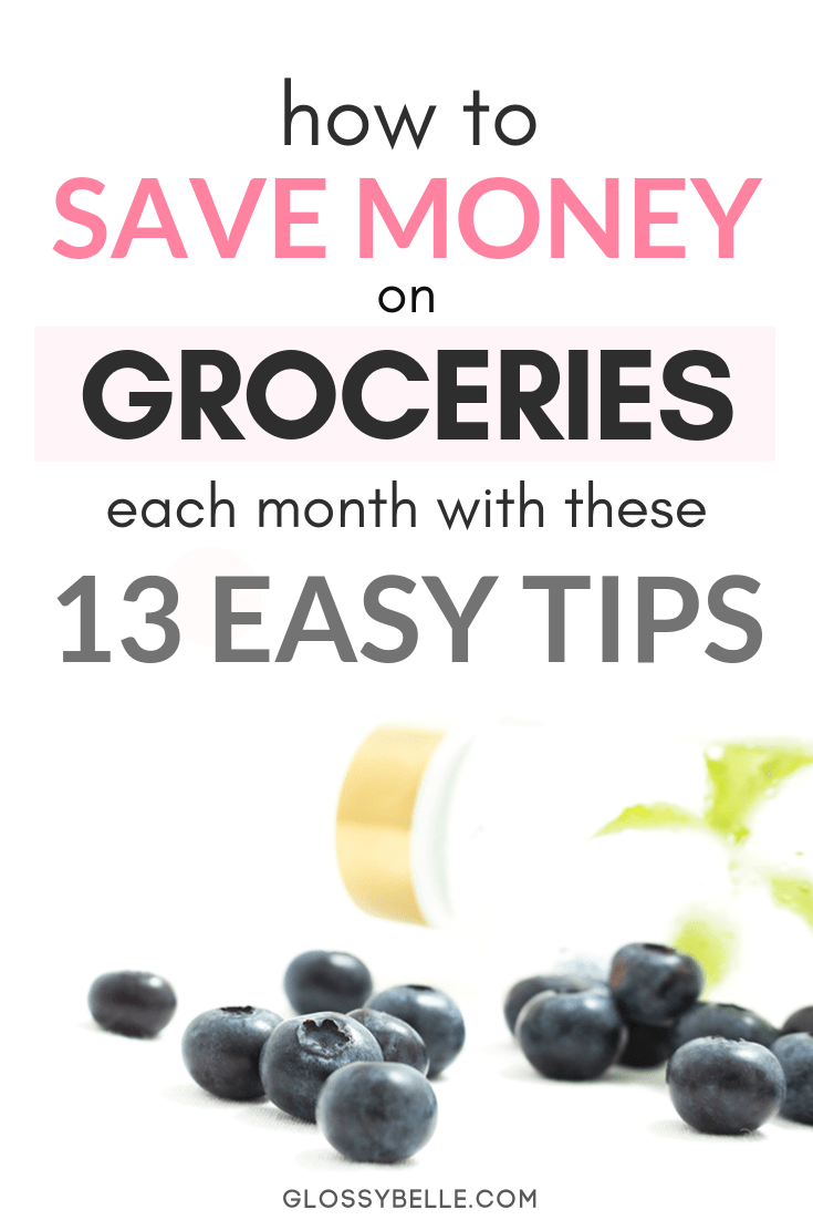 Food is one of the most basic essentials in our daily lives but that doesn't mean we need to spend a ton of money to feed ourselves right. Here are 13 easy and simple ways to cut your grocery bill in half and feed yourself happily and healthily while saving money on a tight budget. | cashback | shopping apps | couponing | reduce expenses | grocery shopping #frugal #frugalliving #cashback #savemoney #savingmoney #moneysavingtips #budgeting