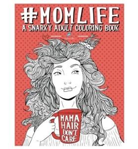 #momlife coloring book