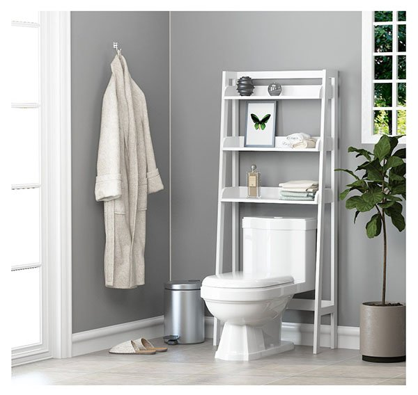 3-shelf bathroom organizer shelf
