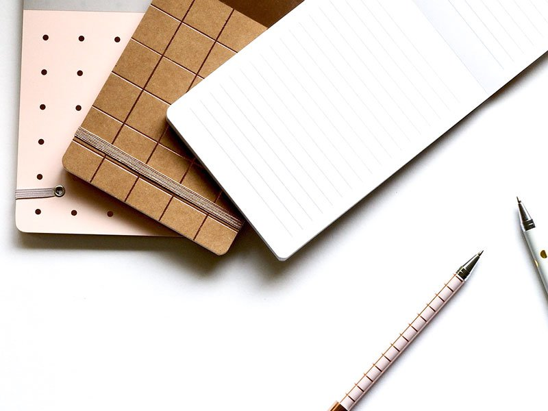 pens notebooks