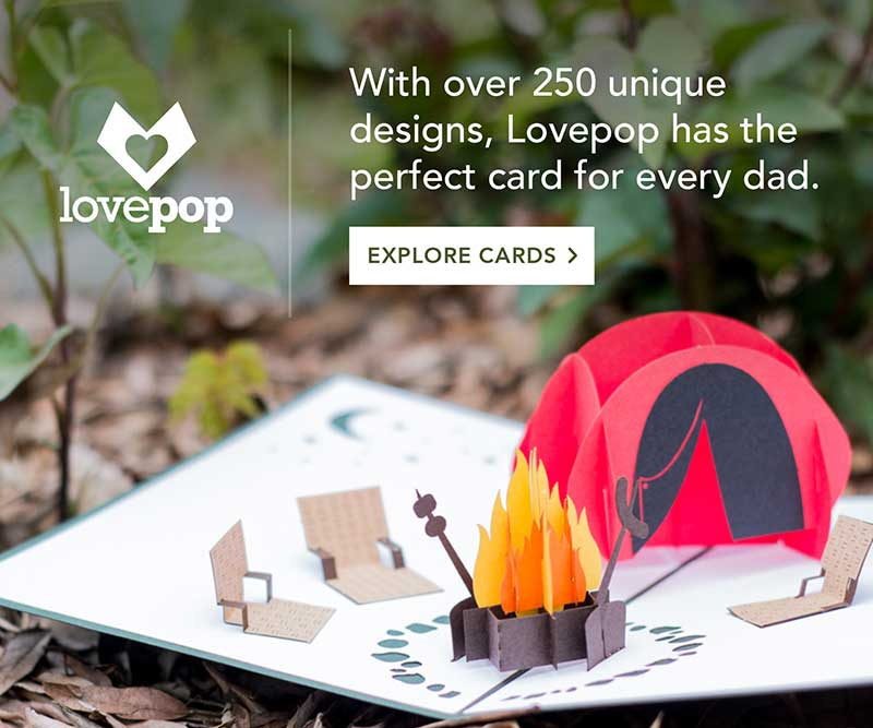 lovepop father's day card