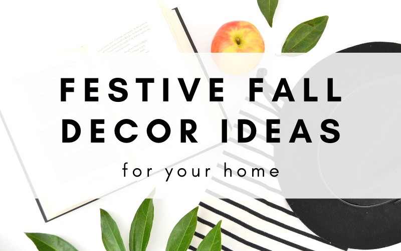 20+ fall home decor ideas