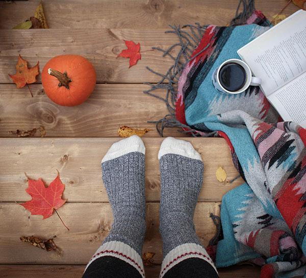 cozy socks for fall
