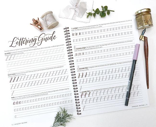modern calligraphy - a beginner's guide