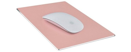 rose gold mouse pad