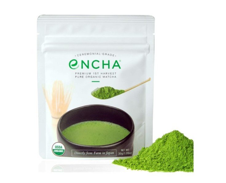 Encha Ceremonial Organic Matcha Powder