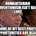 William Hague: Humanitarian Liquidation for Illegitimate GQ Editorial Regime