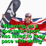 Running, As A Spectator Sport, Is Boring, Concedes Chair of British Olympic Association