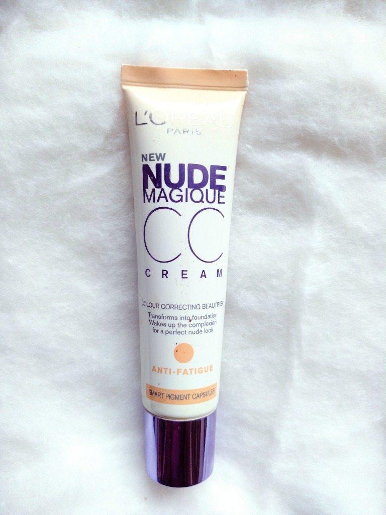 L'Oreal Paris Nude Magique CC Cream Anti fatigue Review