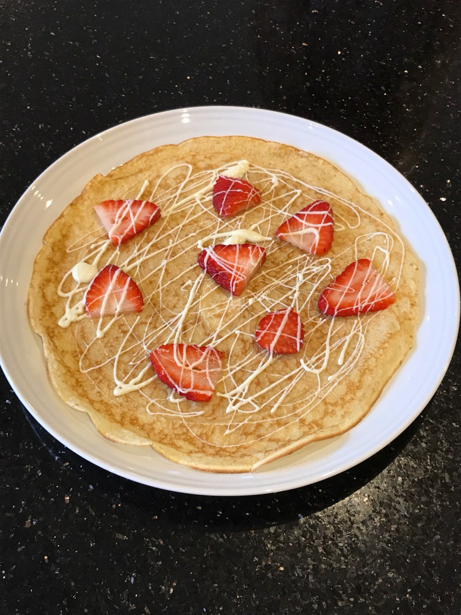 Perfect toppings for pancakes