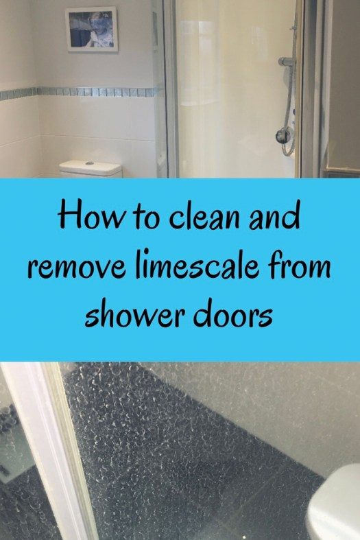 How To Clean and Remove Limescale From Shower Doors - Glossytots