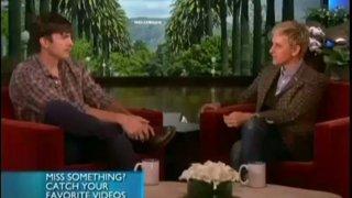 Ashton Kutcher Interview Nov 06 2013