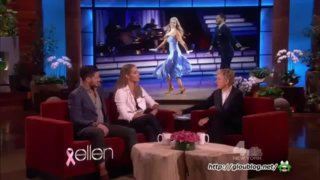 Elizabeth Berkley Interview And Performance Oct 25 2013