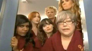 Ellen in the 2012 Emmy Opening Sketch