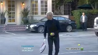 Ellen Plays Tennis With Sloane Stephens Jan 30 2013
