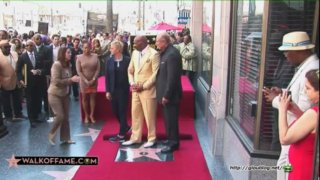 Ellen Speech For Steve Harvey – Hollywood Walk of Fame May 13 2013