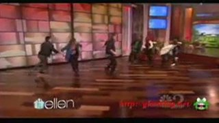 Ellen's SYTYCD Birthday Surprise Jan 26 2012