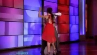 Emmitt Smith And Cheryl Burke Interview And Performance Nov 02 2012