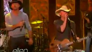 Kenny Chesney And Tim McGraw Performance Apr 04 2012