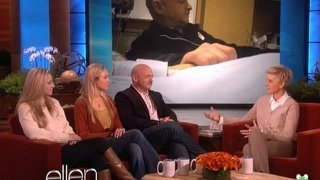 Mark Kelly And Daughters Interview Nov 22 2011