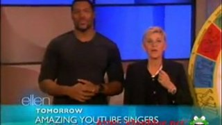 Michael Strahan Interview And Game Jan 24 2012