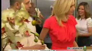 Portia de Rossi And Chef Roberto Martin On The Today Show May 03 2012