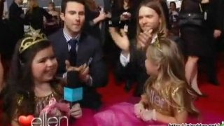 Sophia Grace And Rosie At The Grammys Feb 14 2012