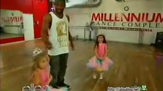 Sophia Grace And Rosie Go To Dance Class May 02 2012