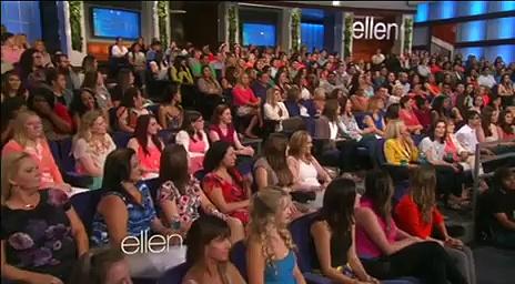 Ellen Monologue & Dance May 04 2015