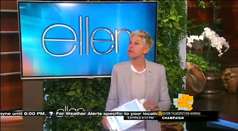Ellen Monologue & Dance May 11 2015