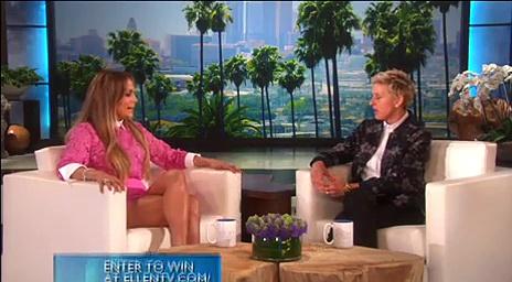 Jennifer Lopez Interview Part 1 May 15 2015